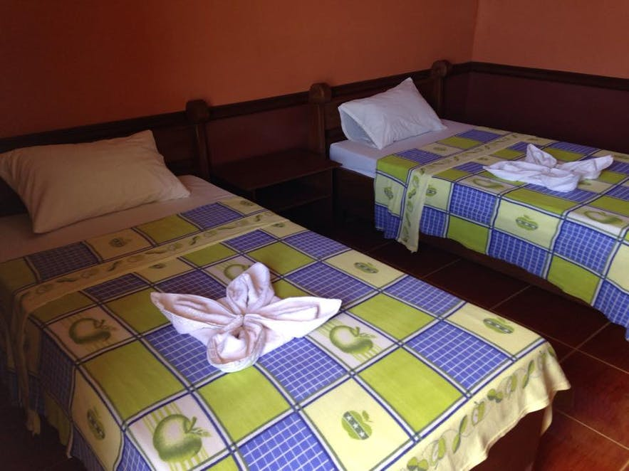Guest room at Beachside Inn Hotel and Restaurant in Tawi-Tawi, Philippines