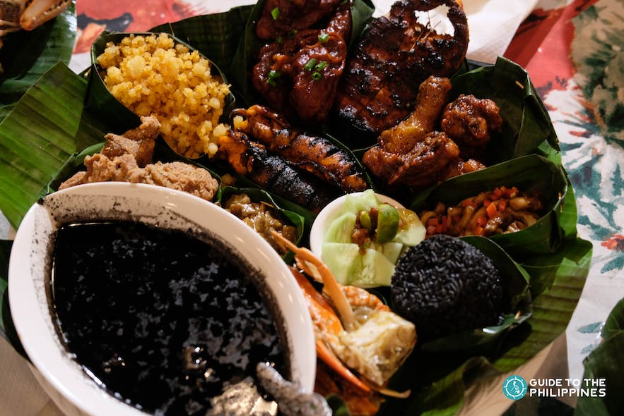 """Tiyula Itum also known as the """"black soup"""" by Inay's Restaurant in Tawi-Tawi"""