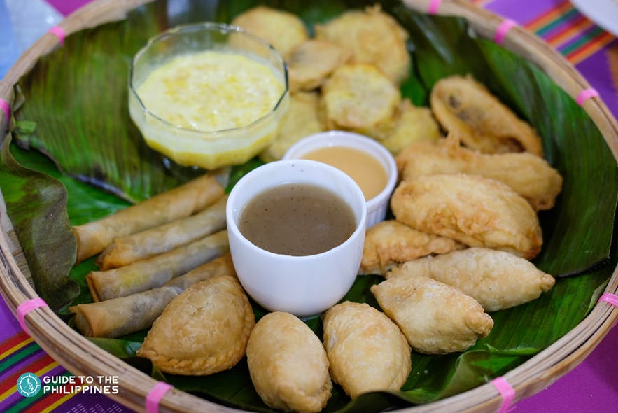 Pastil is a favorite snack by locals in Tawi-Tawi, Philippines