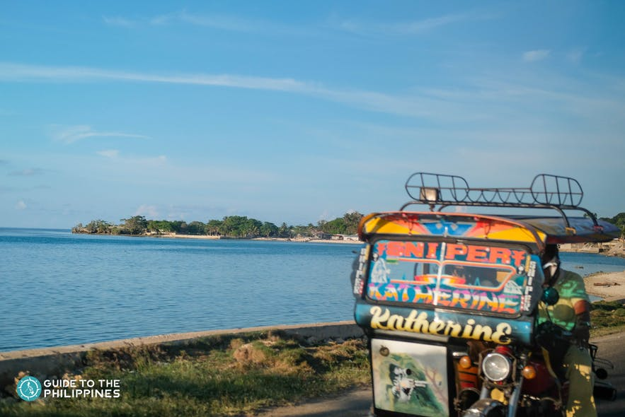 Tricycle in Tawi-Tawi, Philippines
