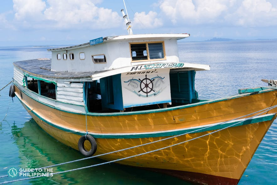 Ferry boat to Tawi-Tawi, Philippines