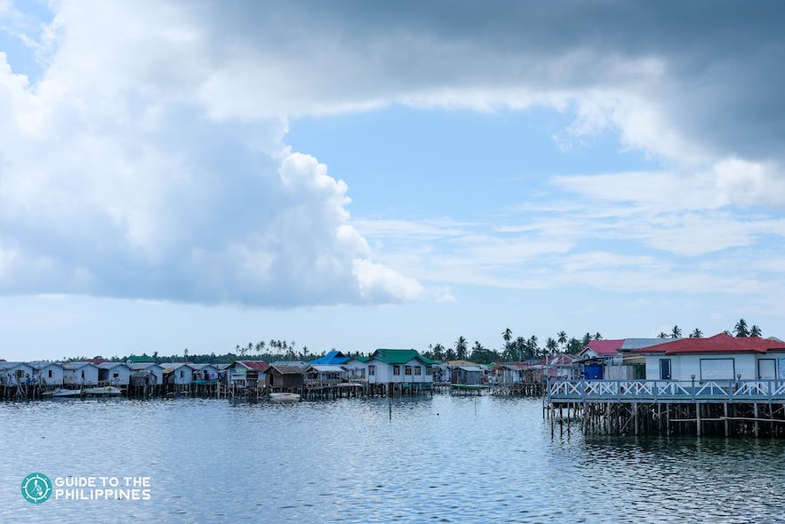 Stilt houses in Tawi-Tawi, Philippines