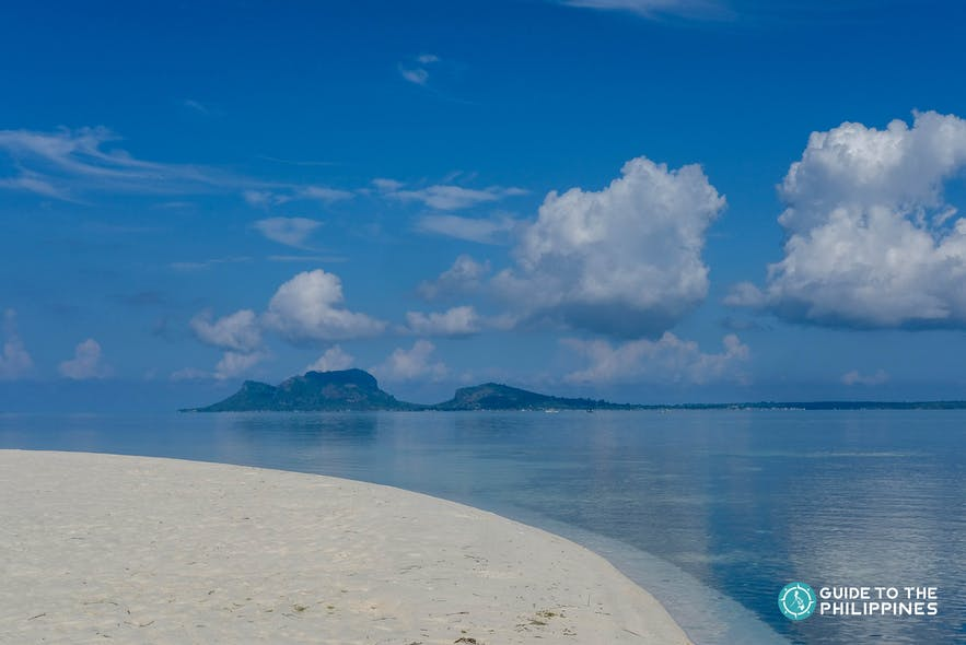 Shore of an island in Tawi-Tawi, Philippines