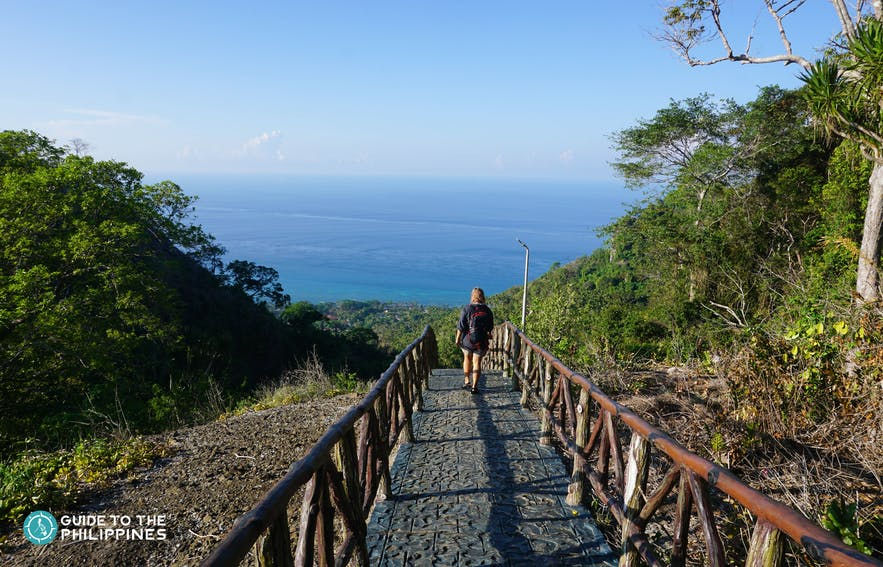 Local traveler at Bud Bongao Forest Park in Tawi-TAwi