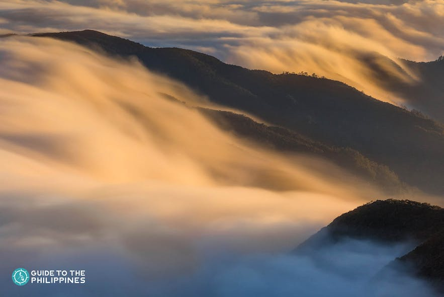 Sea of clouds at Mt. Pulag in Benguet, Philippines