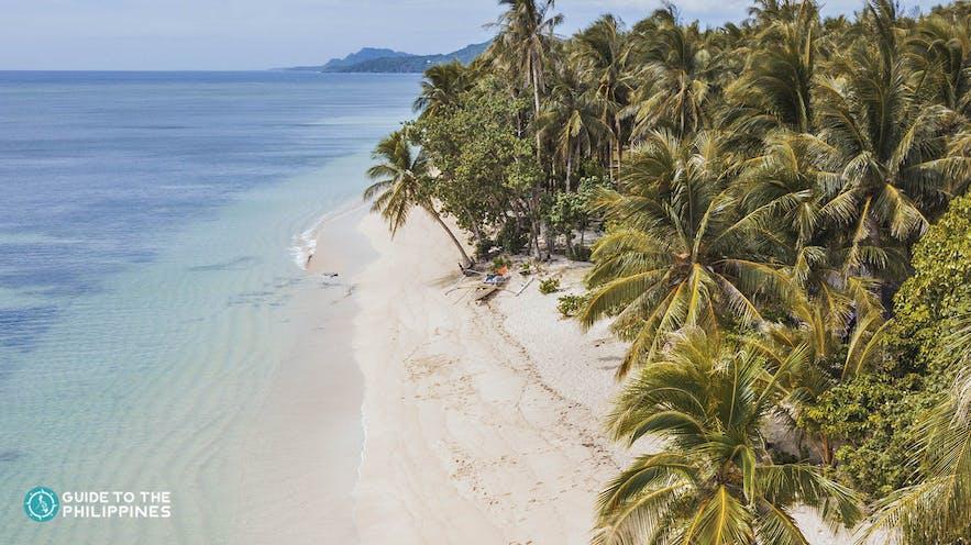 Alegria Beach in Siargao Island, Surigao del Norte