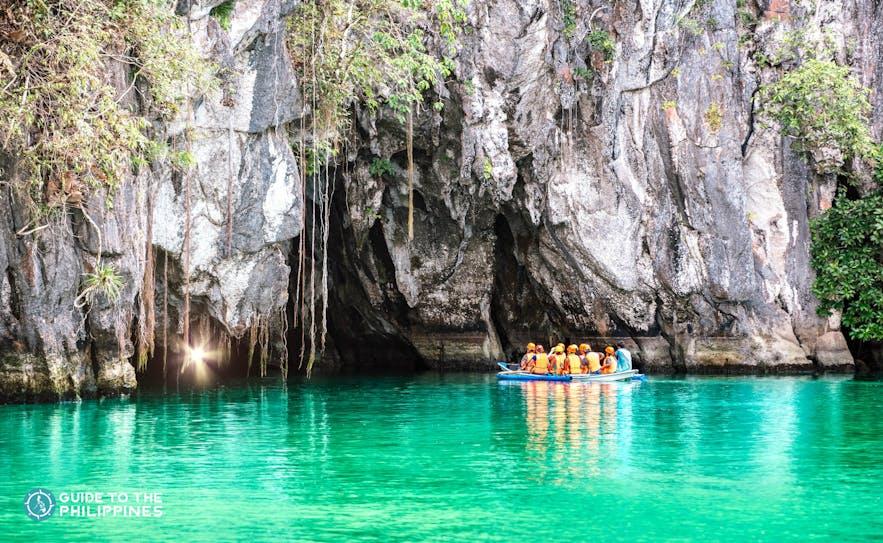 Underground River tour in Puerto Princesa, Palawan