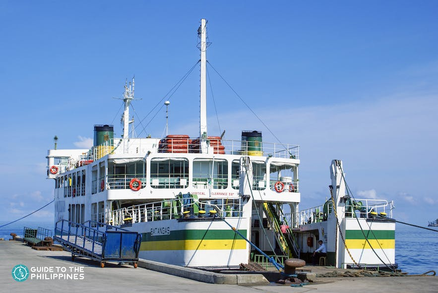 Get to Bohol, Philippines by ferry