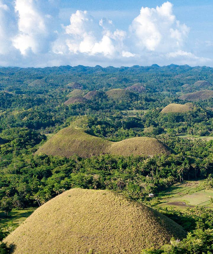 The amazing Chocolate Hills in Bohol, Philippines