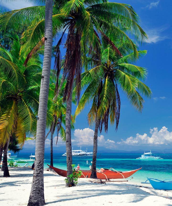 Malapascua Beach in Cebu, Philippines