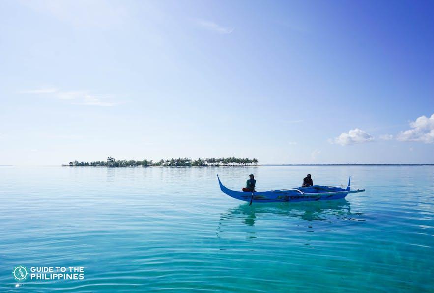Boatmen on Sangay Siapo Island in Tawi-Tawi