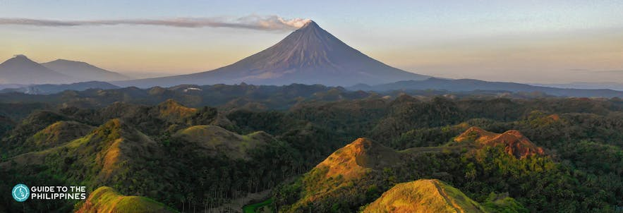 Mount Mayon in Legazpi, Albay