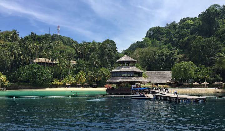 Davao Samal Island Hopping & Snorkeling Tour with Transfers