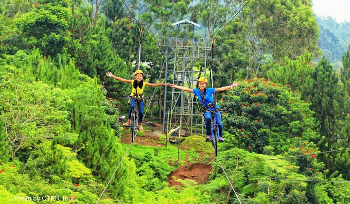Davao Eden Nature Park Half Day Tour with Snacks & Transfers