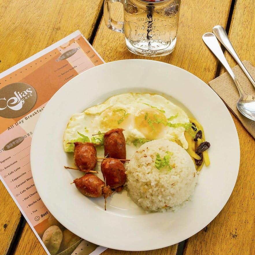 Alaminos longganisa by Celia's Cafe in Alaminos, Pangasinan