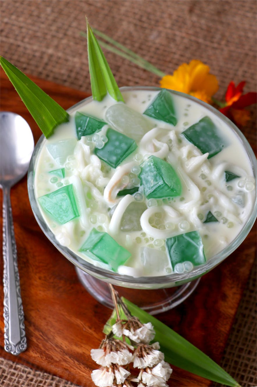 Buko pandan in the Philippines