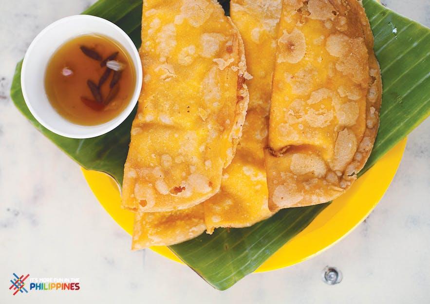 Ilocos empanada in the Philippines
