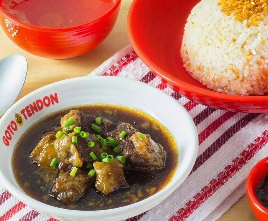 Beef pares in with fried rice in the Philippines
