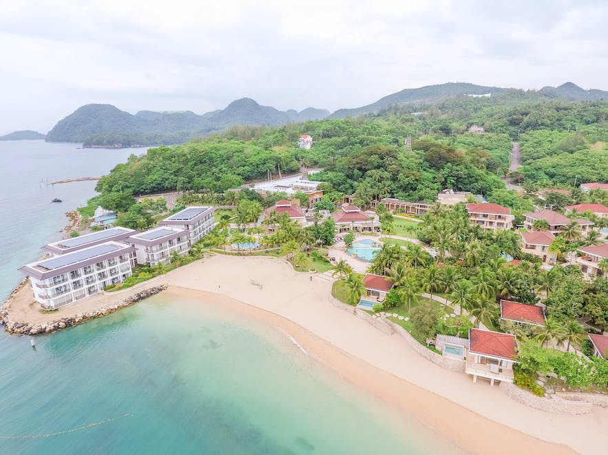 Aerial view of the Misibis Bay Resort