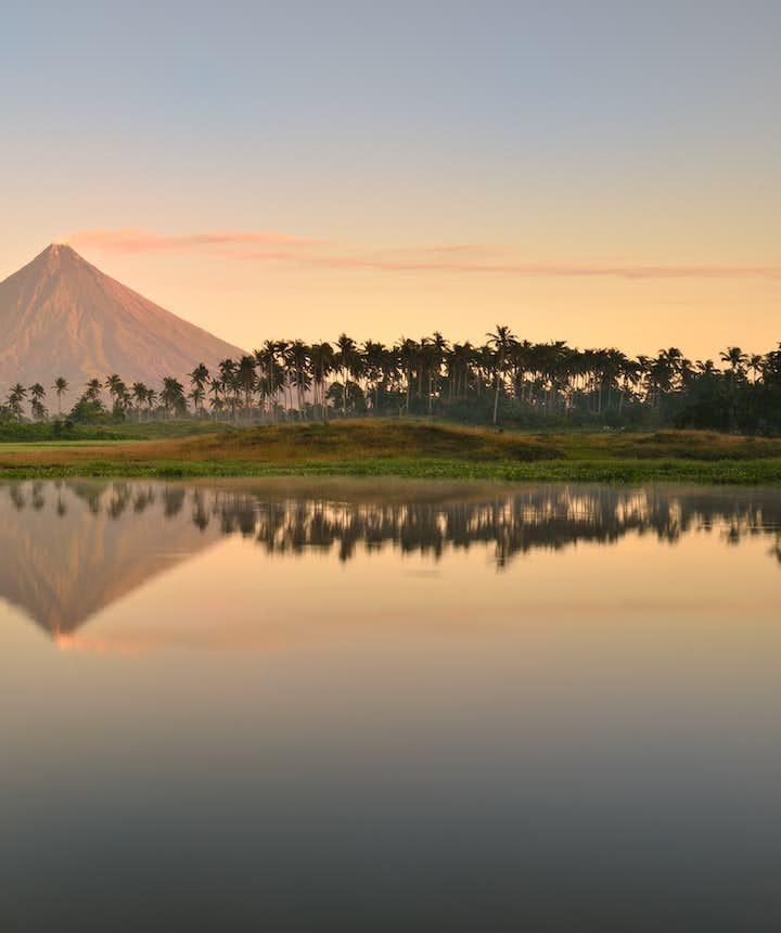 Mayon Volcano in Albay