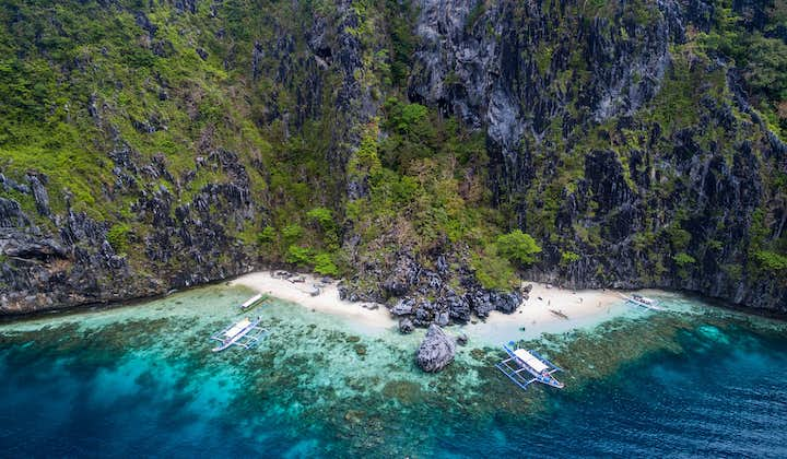 El Nido Island Hopping C Private Tour with Lunch & Transfers