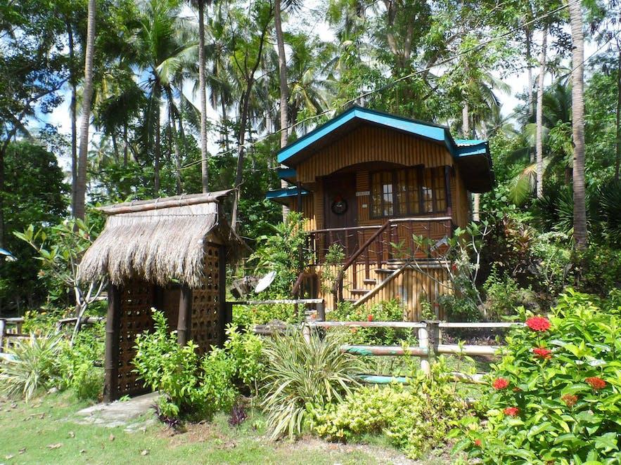 A room in Punta del Sol Beach Resort in Samal Island