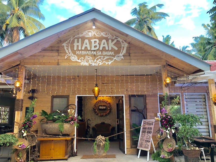 Entrance to HABAK Habhaban sa Babak
