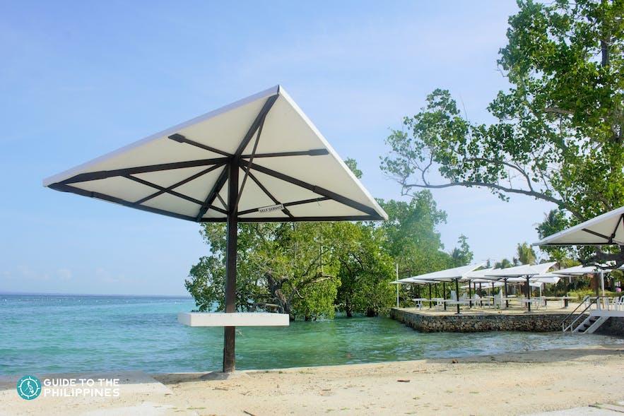 Beach in Samal Island