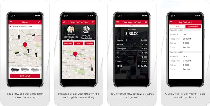 Screenshot of the Hirna application on iPhone