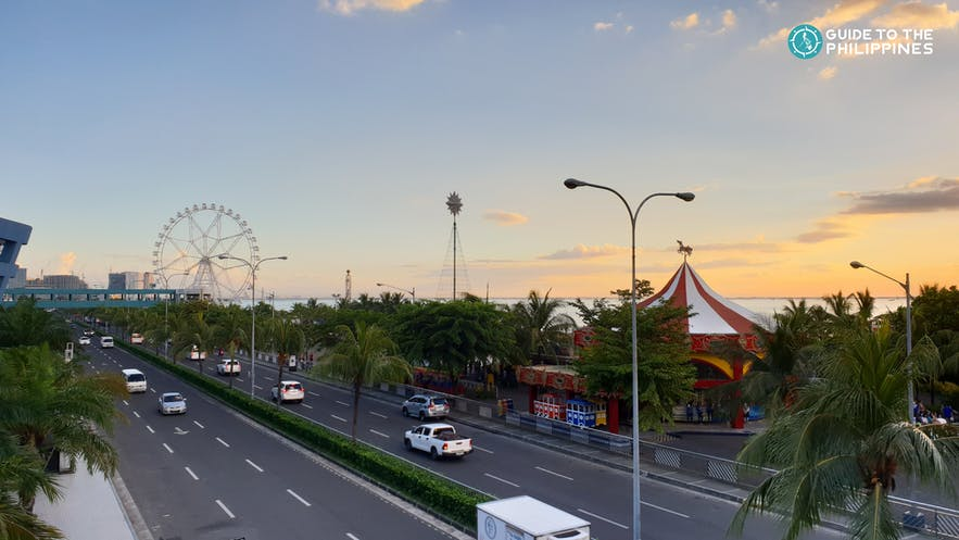 View from SM Mall of Asia
