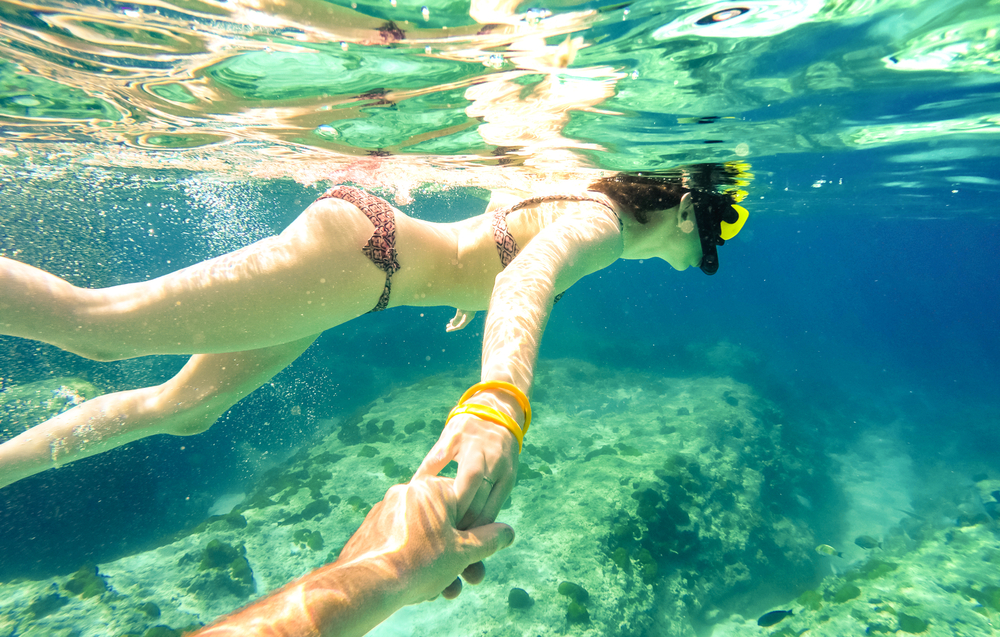 Bohol Panglao Island Hopping Half-Day Shared Tour with Snorkeling Gears & Transfers