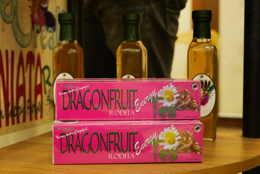Dragon Fruit Tea from REFMAD Dragon Fruit Farm