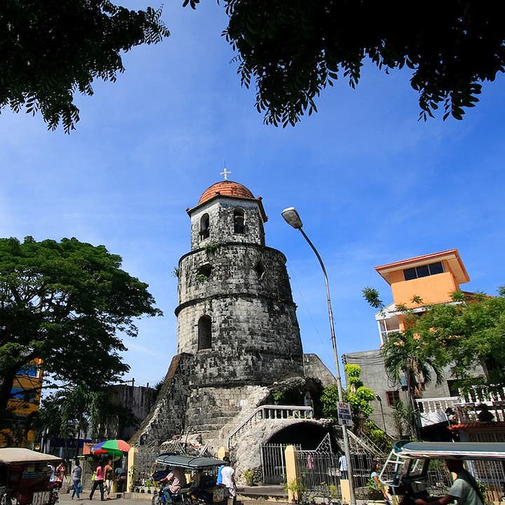 Dumaguete City, Pulangbato Falls & Red Rock Hot Spring Tour with Lunch & Transfers