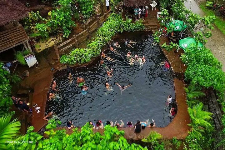 Dumaguete Pulangbato Falls & Red Rock Hotspring Private Tour with Lunch & Transfers
