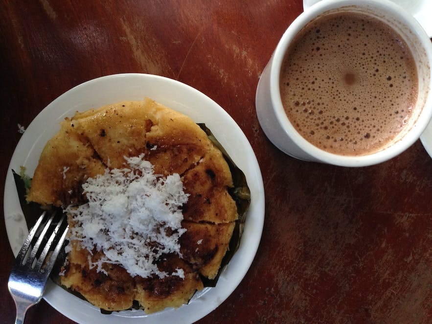 Chocolate drink from Tablea in Batangas