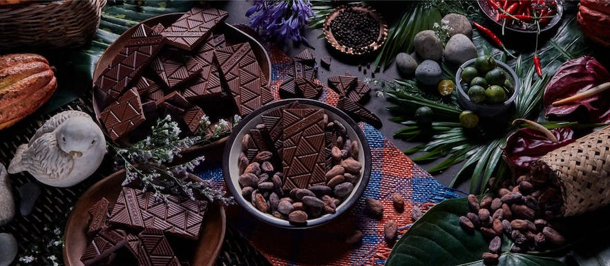 Theo + Philo chocolate products