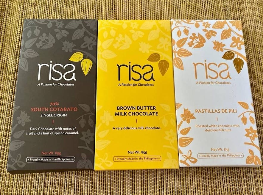 Chocolate products from Risa