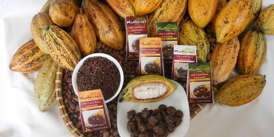 Magdalena's Cacao Bean Chocolates products