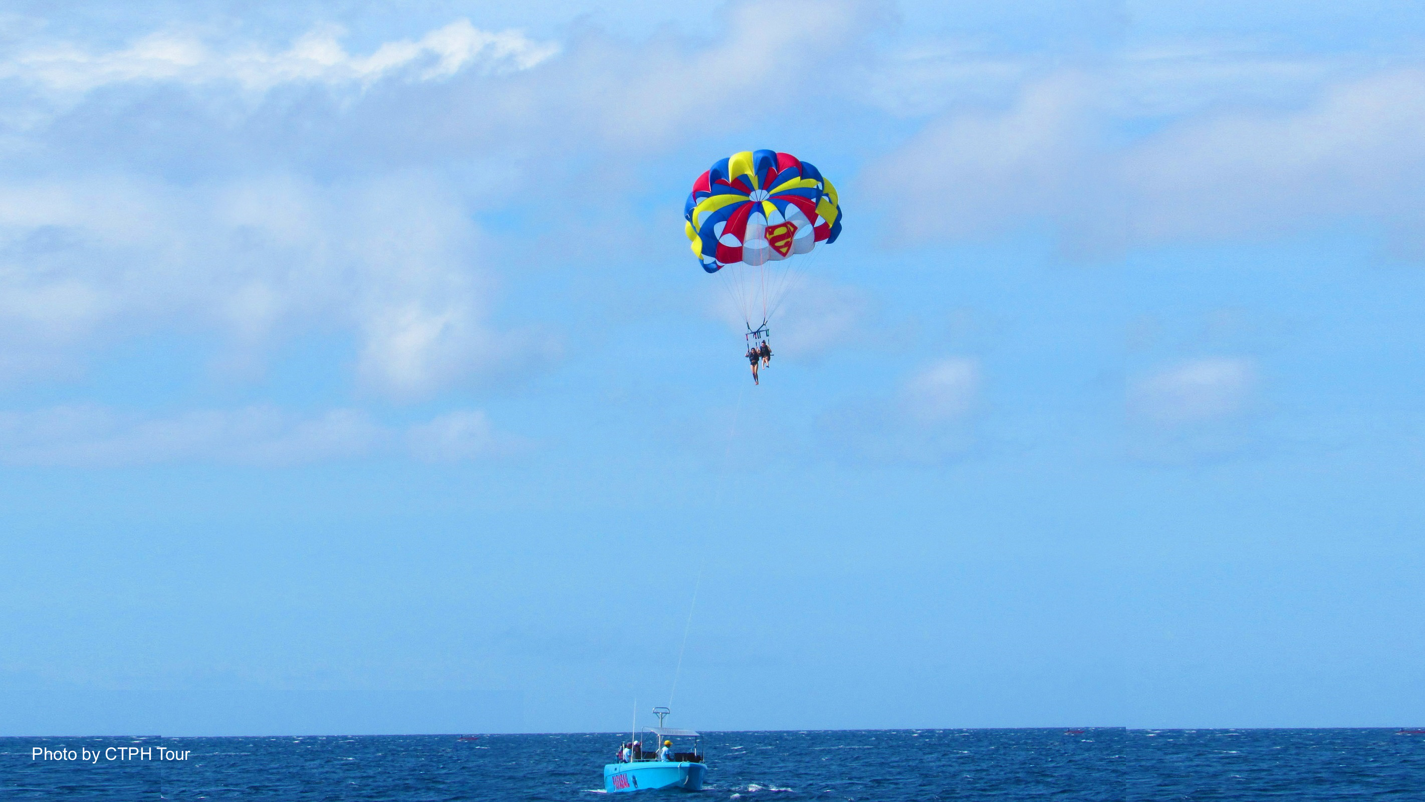 Boracay Island Hopping, Helmet Diving & Parasailing Shared Tour with Lunch & Transfers
