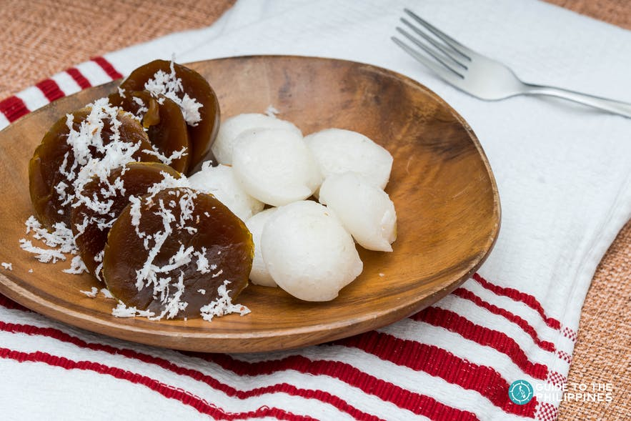 Puto Calasiao, a glutinous rice flour product from Pangasinan