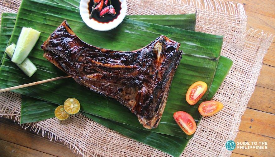 Grilled tuna in Davao