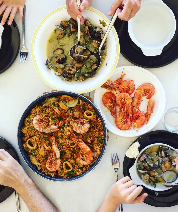 Seafood dishes in the Philippines