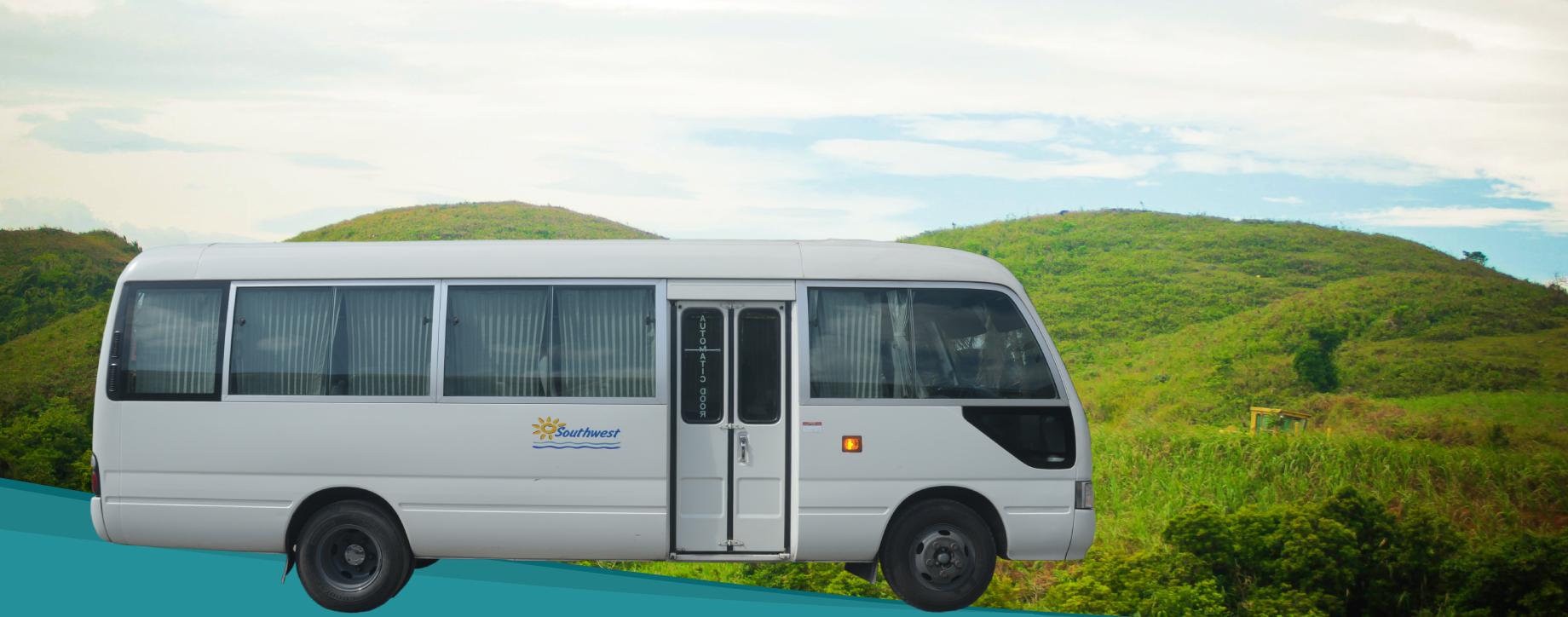 Bacolod City to Binalbagan/La Castellana Private Minibus Transfer