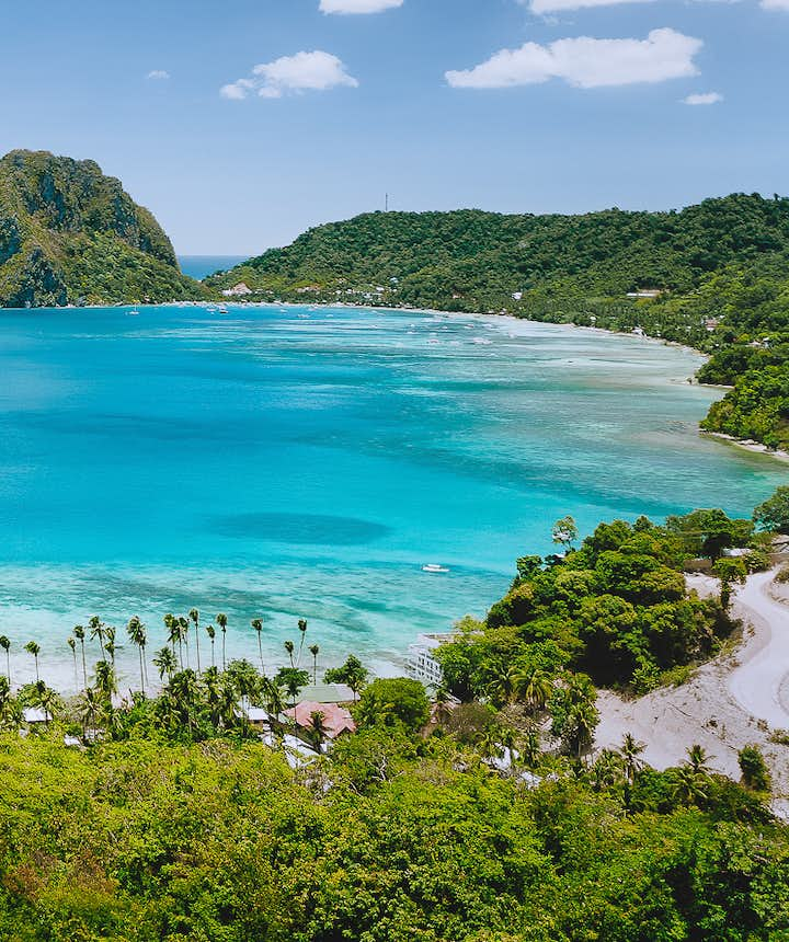 Palawan beaches and landscapes