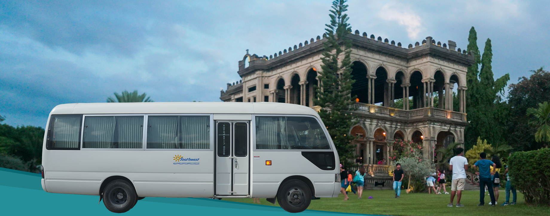Minibus transfer from Bacolod City to Candoni/Bindoy/Ayongo