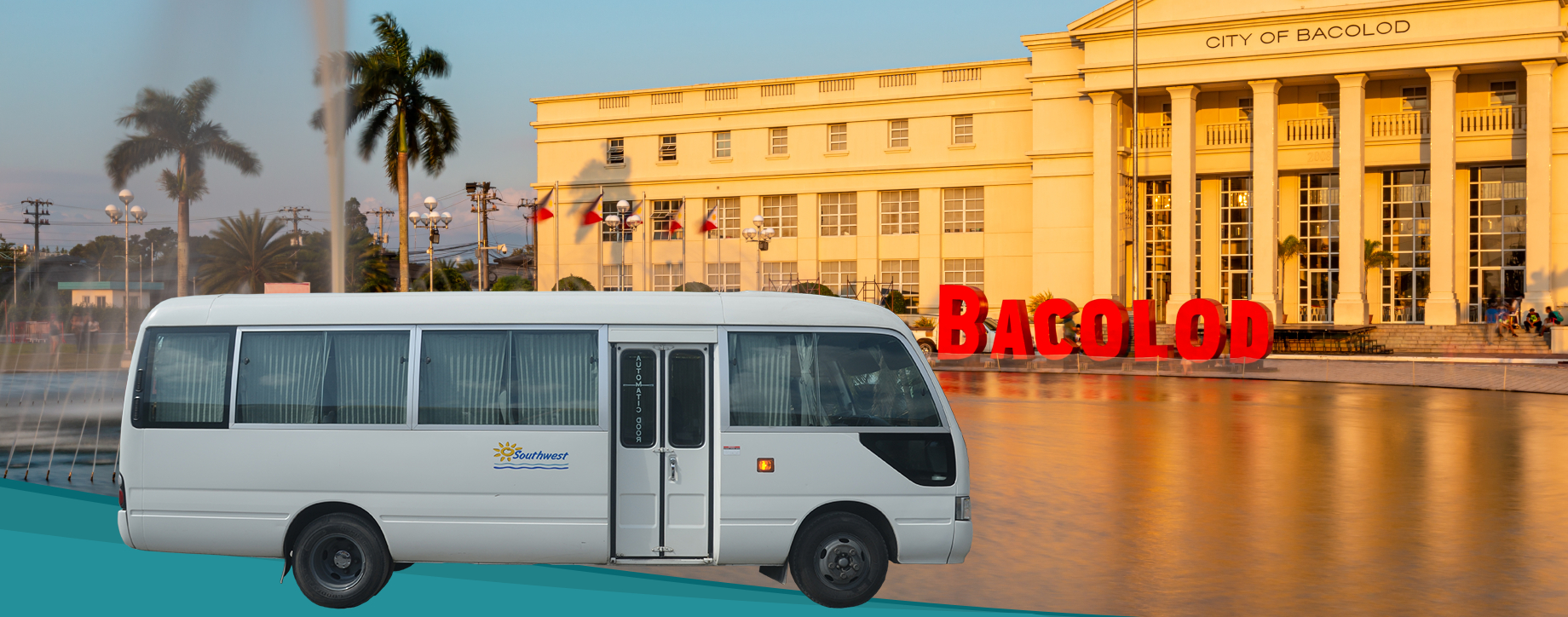 Minibus transfer service from Bacolod to Negros Oriental