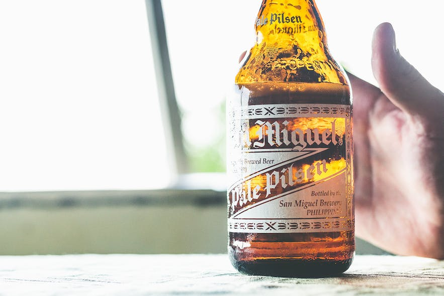 San Miguel Beer in the Philippines