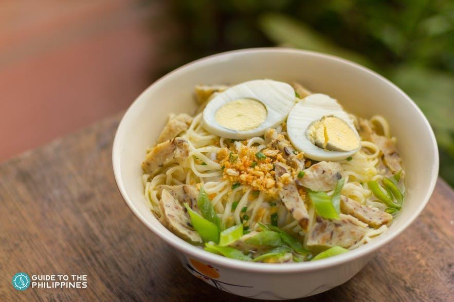 Batchoy, a noodle dish popular in Iloilo