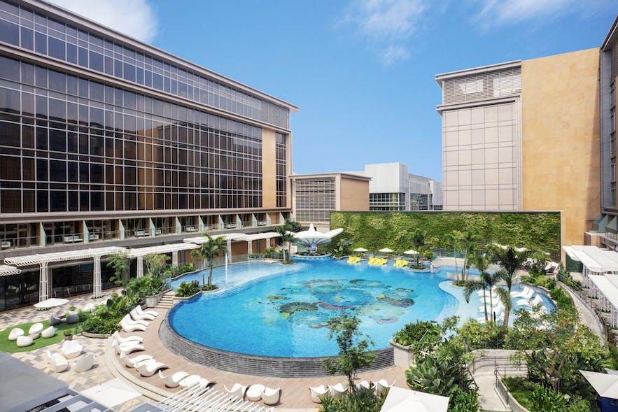 View of Sheraton Manila Hotel