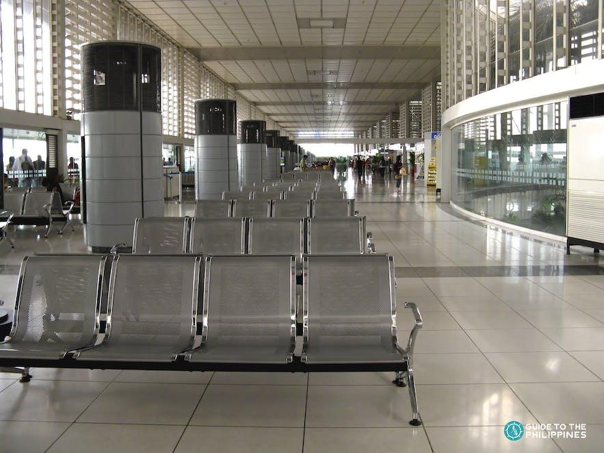 Waiting area in NAIA